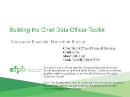 consumer financial protection bureau powell consumer finance protection bureau presentation at cdo