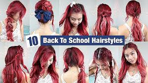 easy hairstyles for school with pictures long hairstyles new school hairstyles for long thick hair school