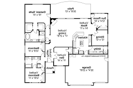 Ranch Home Floor Plan Ranch House Plans Ryland 30 336 Associated Designs