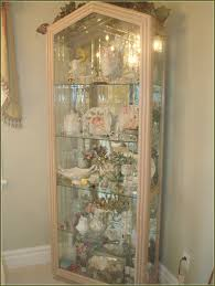 curio cabinet white glass curio cabinets images of twist