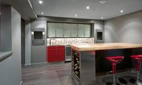 modern home bar basement idea contemporary basement designs
