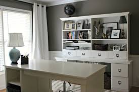 charming simple home office room design ideas featuring cream