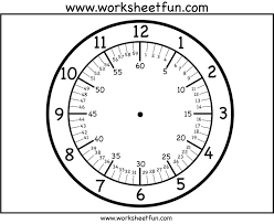 printable clock template without numbers number names worksheets clock face printables free printable