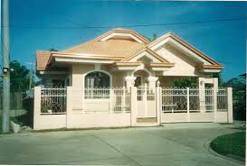 bungalow house design with terrace extraordinary one storey house plans in the philippines