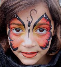 butterfly face painting butterflies are free pinterest