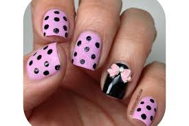 nail art with 3d bows how you can do it at home pictures