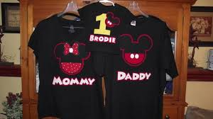 mickey mouse birthday shirt mickey mouse 1st birthday personalized t shirt wally designs