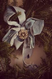 Christmas Decorations Blue Bows by 212 Best Shabby Chic Christmas Images On Pinterest Christmas