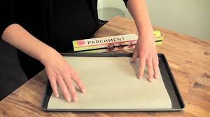 writing parchment paper culinary parchment 101 lining a baking sheet youtube