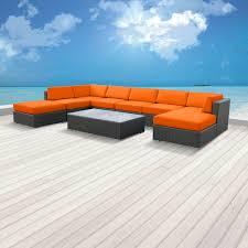 sofa sets modern sofas belizo aphrodite 9 pcs wicker patio