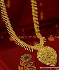 24ct gold plated jewellery ad dollar kerala beaded haram