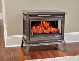 Electric Fireplace Stove Comfort Smart Jackson Bronze Infrared Electric Fireplace Stove