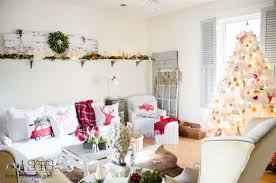 Christmas Living Room by Christmas Decor The Living Room Sew A Fine Seam
