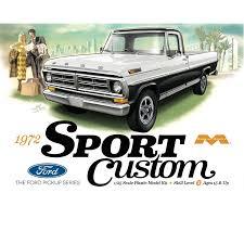 Ford Ranger Truck Models - amazon com 1972 ford sport custom pick up moebius model toys u0026 games