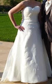 occasion mariage de mariée ivoire t 42 44 modèle sigale de chez point mariage