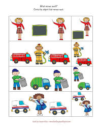 community helpers printable educations coloring pages hats puzzles