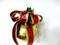 handmade personalized ornaments large jingle bell 1st