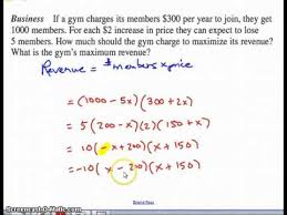 how to solve word problems using quadratic equations youtube