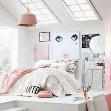 Pink And Gray Comforter Girls Bedding Pbteen