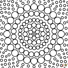 download coloring pages circle coloring page circle pattern