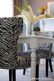 Best Animal Print Images On Pinterest Animal Prints - Animal print dining room chairs