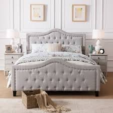 Quilted Bed Frame Size Beds For Less Overstock