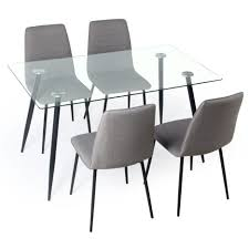 Square Glass Dining Tables Dining Tables Round Glass Dining Table Set Glass Top Pedestal