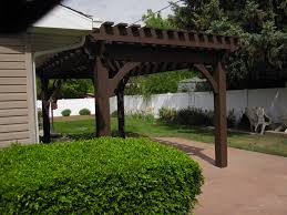 before u0026 after backyard transformation with timber frame pergola