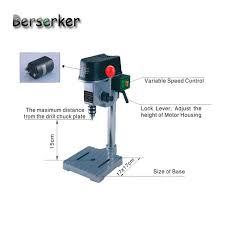 Power Bench Aliexpress Com Buy Berserker Precision Mini Bench Drill Power