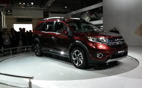 honda car 7 seater honda unveils 7 seater br v to be launched in india this year