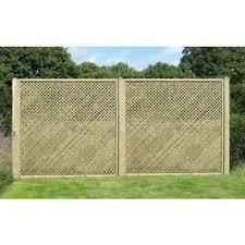 Diamond Trellis Panels 6x6 Diamond Lattice Trellis Square Merit Garden Products
