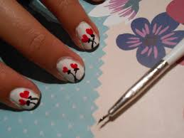 one for you one for me u2026 u2026 poppy heart flower nail art fifislounge