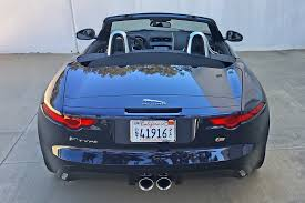 jaguar back one week with 2017 jaguar f type s convertible autoz