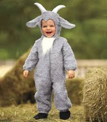 Wolf Halloween Costume Child Billy Goat Wolf Billy Goat Story Grimm