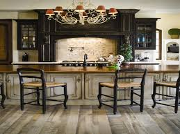 kitchen cabinets distressed ceiling fans for kitchens with light off white kitchen cabinets