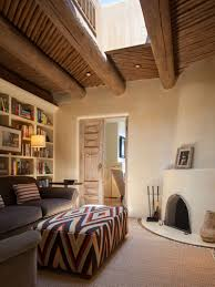 step inside a stunning adobe home in santa fe sitting rooms