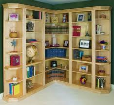 Build Corner Bookcase Carpentry How Do I Make Built In Bookcases For The Corners Of A
