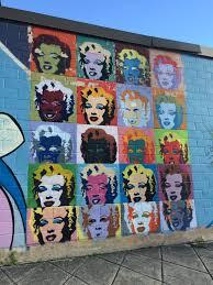 marilyn monroe pop art mural deco district san antonio texas marilyn monroe pop art mural deco district san antonio texas