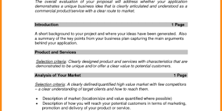 5 small business proposal example parts of resume to free small