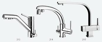 three kitchen faucets purepro three in one faucets