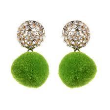 green earrings bargains earrings shop amrita singh jewelry