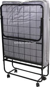 Collapsible Bed Frame Guest Home Metal Folding Bed Frame With Foam Mattress Buy Guest