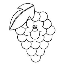 25 free printable lovely grapes coloring pages