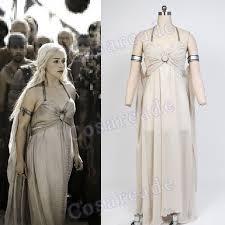 Game Thrones Halloween Costumes Khaleesi Buy U003c U003c Game Thrones Daenerys Targaryen Chiffon Party