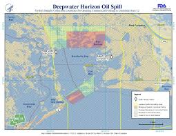 State Of Louisiana Map emergencies u003e gulf of mexico oil spill reopening of closed waters