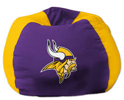 minnesota vikings nfl bean bag chair by the northwest at bedding com