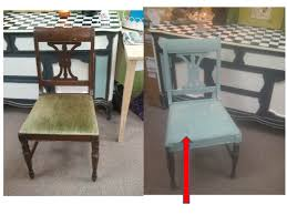 How To Paint Table And Chairs Chalk Paint On Leather The Purple Painted Lady
