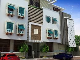 residential building elevation heteen residential building on behance
