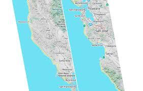 San Francisco Bike Map by Spring Into Cycling With Mapzen U0027s New Bike Map Mapzen