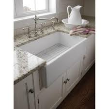 farm apron sinks kitchens pegasus farmhouse apron front fireclay 30 in single bowl kitchen